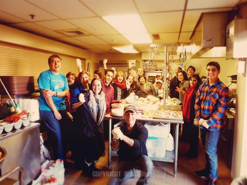 Shelter dinner February  28 2015