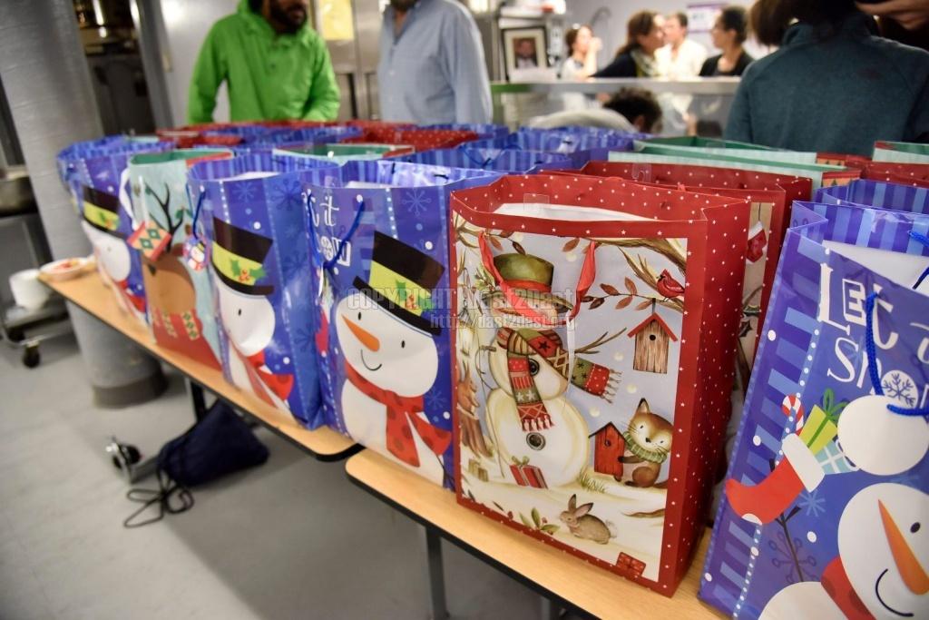 December 23 2017 shelter dinner & Gifts of Joy dedicated in memory and honor of Bijan Ghaisar