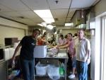 Shelter dinner May 2012