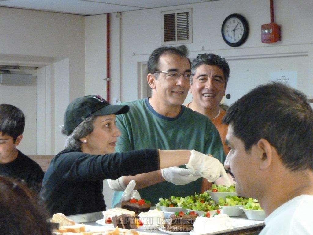Shelter dinner October 25 2014