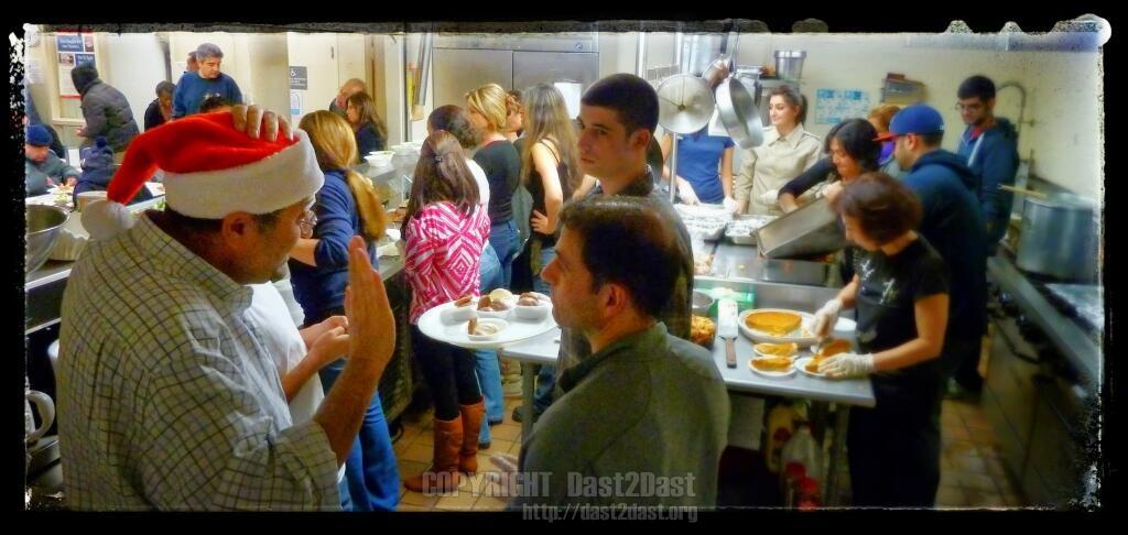 Shelter dinner December 22 2012