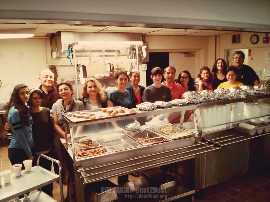 Shelter dinner December 2015