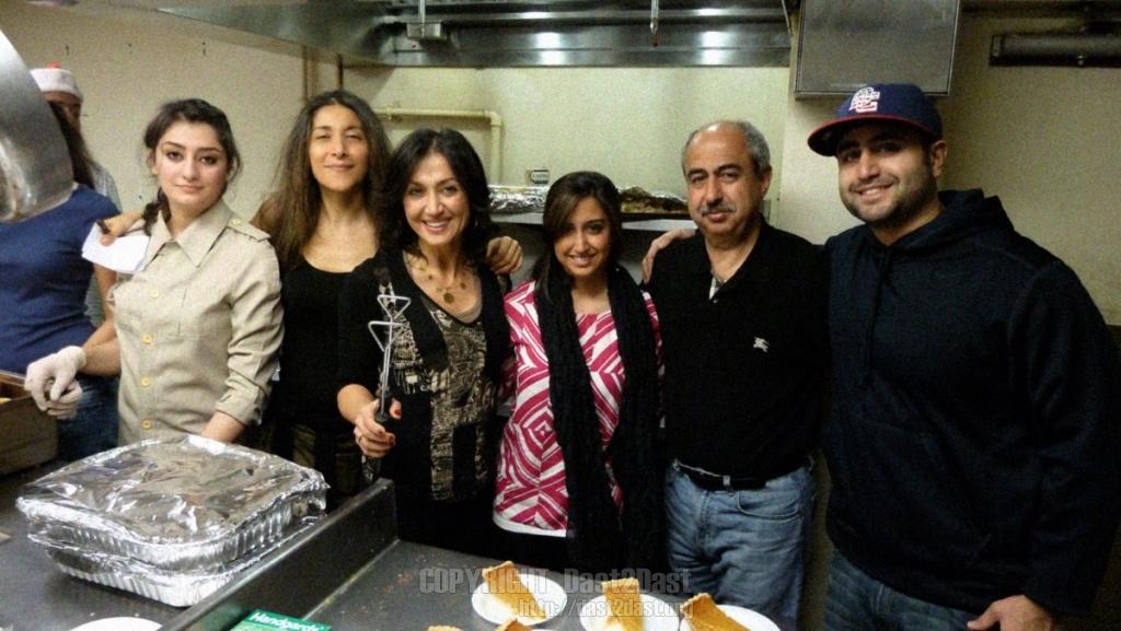 Shelter dinner December 2012