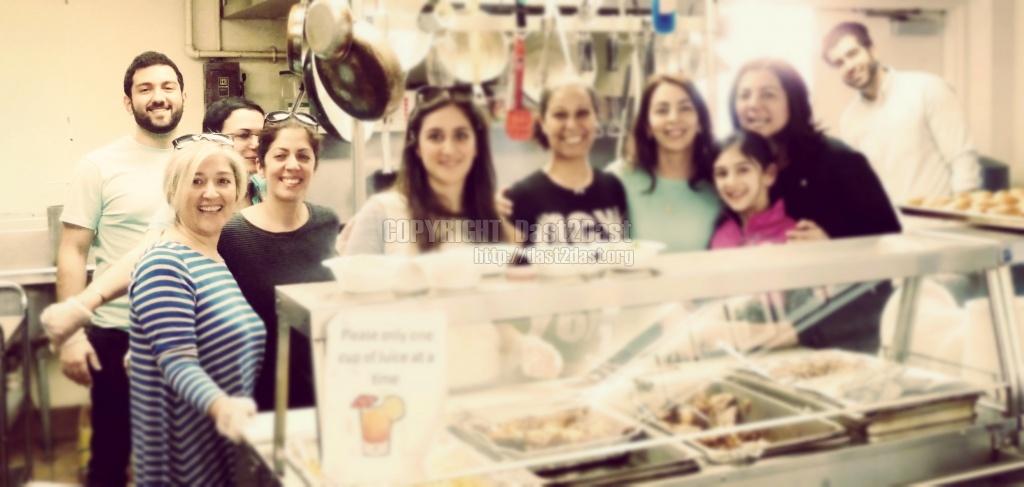 March 22 2014 shelter dinner with Bijan Ghaisar
