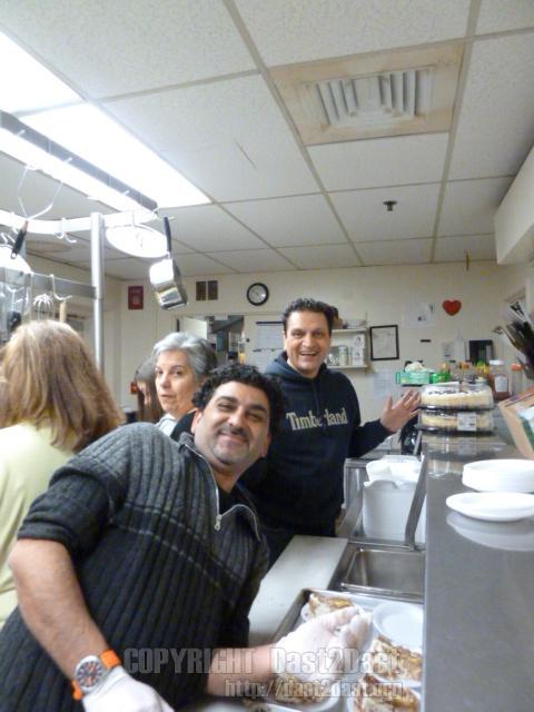 Shelter dinner February 2011