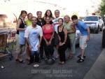 Shelter dinner June 2009